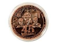Lucite Coin Box