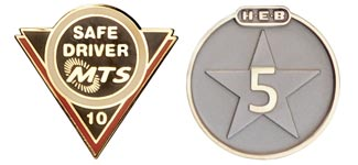 Service and Recognition Pins