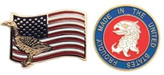 American Made Pins